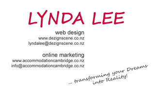 LYNDA LEE Web Designer