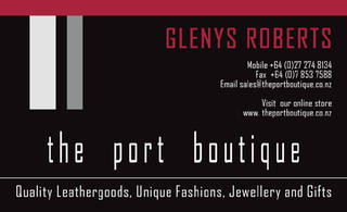 The Port Boutique front