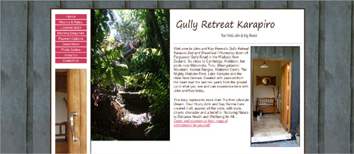 Gully Retreat Karapiro B&B