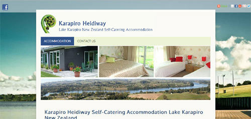 Karapiro Heidiway Self-Catering Accommodation