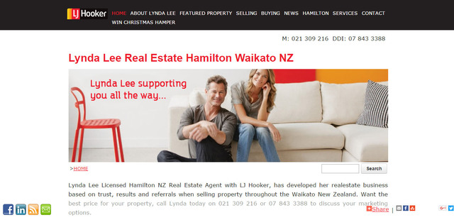 Lynda Lee Licensed Real Estate Sales & Marketing Specialist LJ Hooker Hamilton