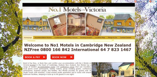 No1. Motels on Victoria CAMBRIDGE