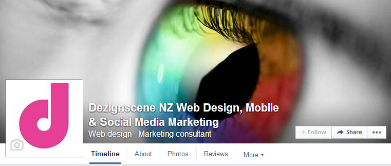 Dezignscene NZ Web Design, Mobile & Social Media Marketing