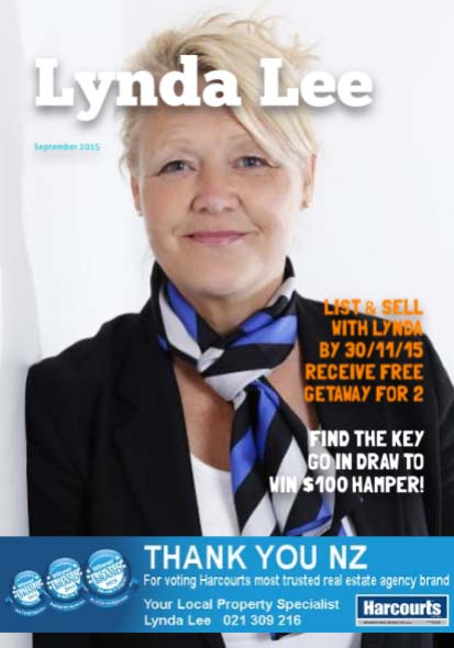 Lynda Lee Hamilton NZ Real Estate Magazine September 2015